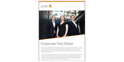 Juriba's Corporate Fact Sheet