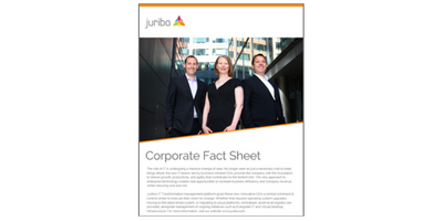 Juriba's Corporate Fact Sheet