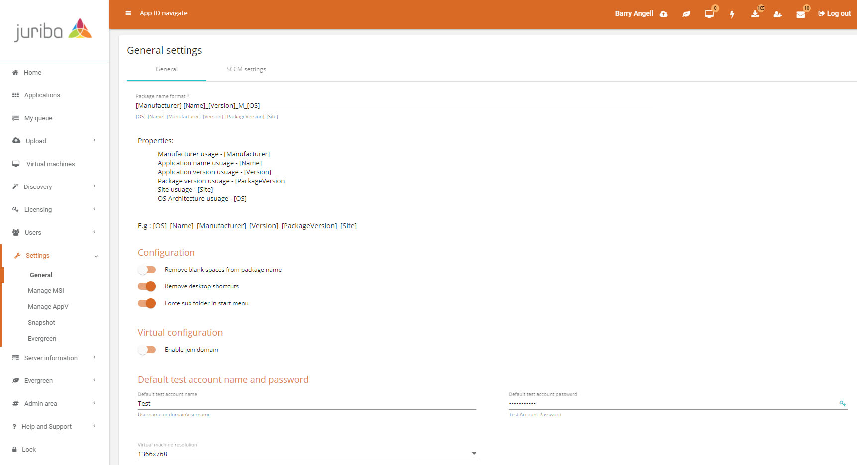 Dashworks Application Manager - Packaging Settings Pages (To Apply To All Package Automation) (1)