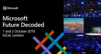 Future decoded 2019 event website