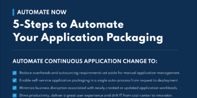 How to Automate Your Application Packaging Infogaphic Resource Tile
