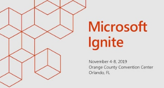 Ignite 2019 event website