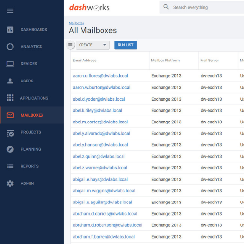 Email and Office 365 Migration - All Mailboxes